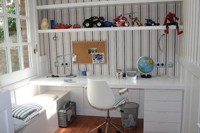 dormitorio juvenil nio zona de estudio escritorio with dormitorio nio